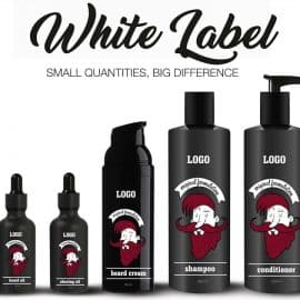 barber line white label