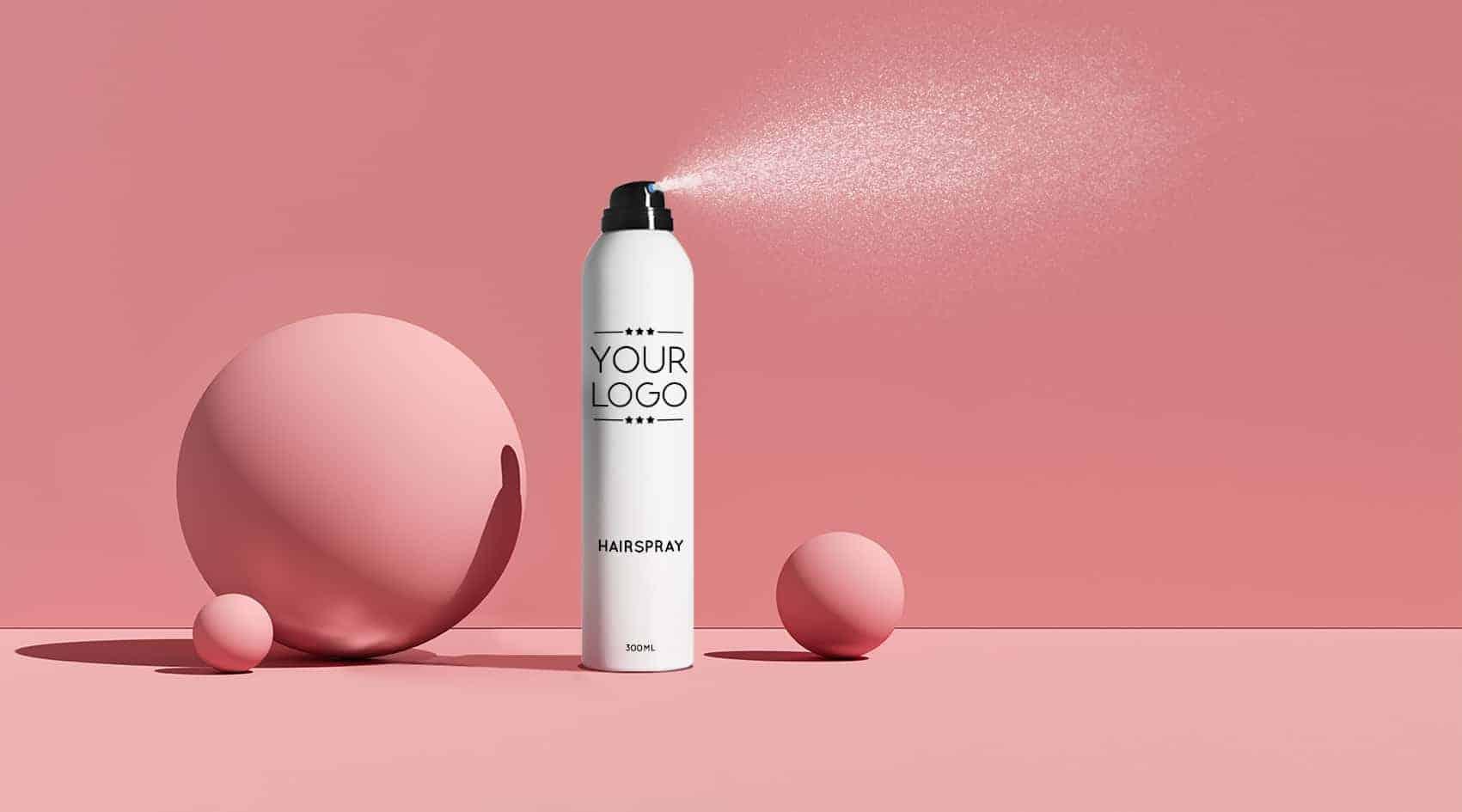 extra sterke haarlak eigen merk aerosol